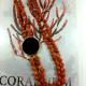 collana cartagine corallo e onice